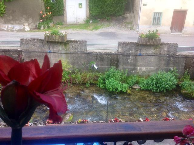 Par ma fenêtre ...Le Rebenty