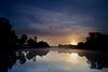 Sunrise at Southwick Lake
