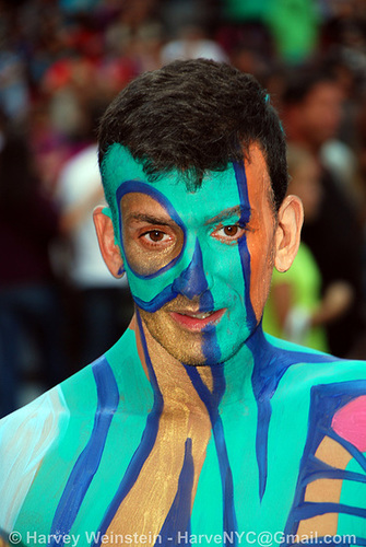 Ipernity: Times Square Body Paint - by HarveNYC