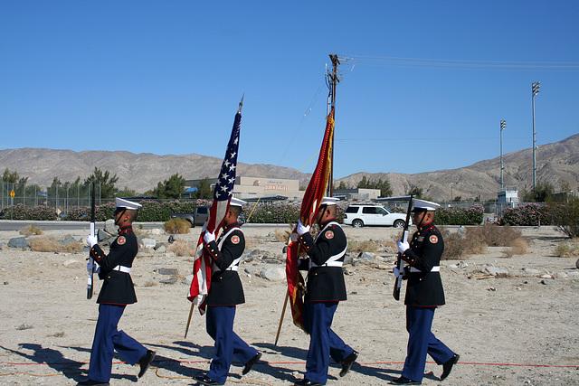 DHS High School Marine JROTC Color Guard (3230)