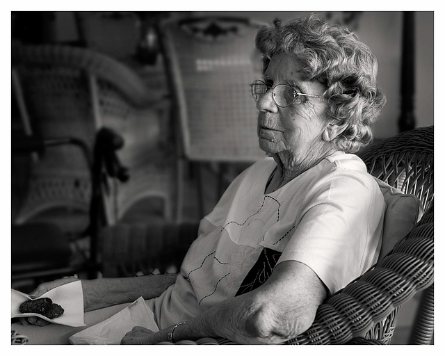 Tribute to the elderly - Betty
