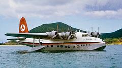 "Short Sandringham ""Beachcomber"" at Lord Howe Island"
