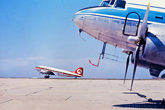 DC3s at Essendon, 1965