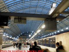 London St. Pancras Station, London, England (UK), 2012