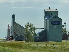Magrath grain elevator