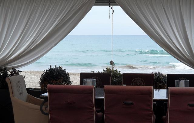 romanticamente in riva al mare