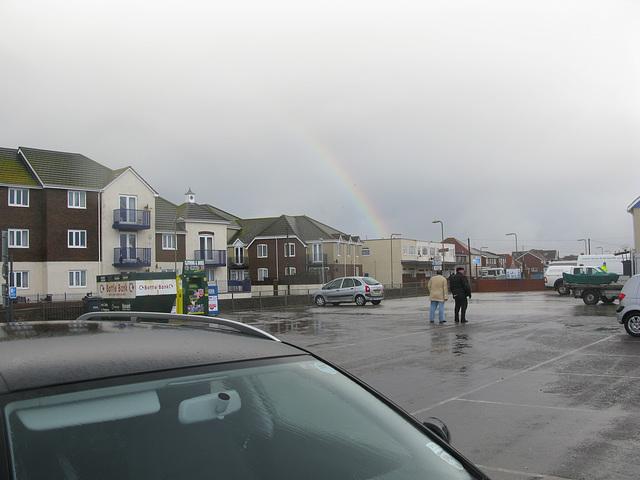 Rainbow over Sandy Point