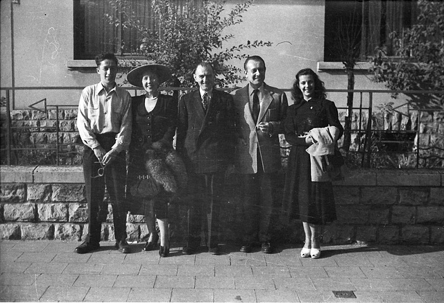 Family group, Luxembourg. 1950s