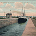 C. P. R. Steamer in Canadian Lock. Sault Ste. Marie, Canada.