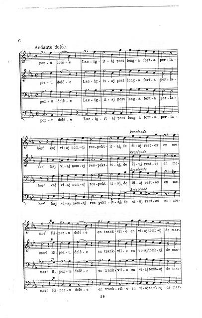 Himno al niaj mortintoj. Poezio de Carlo Bourlet 6