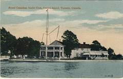Royal Canadian Yacht Club, Centre Island, Toronto, Canada