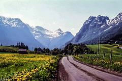 Norway 1970 - Oldedalen - 8.6.70