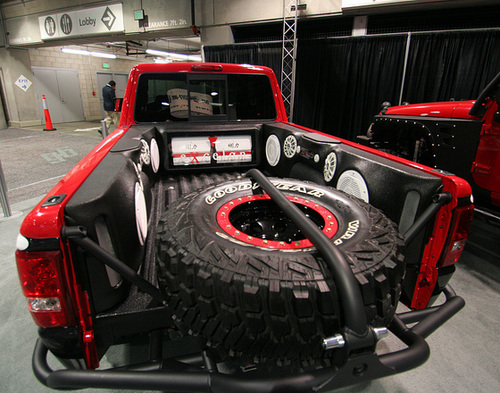 Sound System In Pickup (3819)