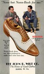 None But Nunn-Bush Shoes for Me!