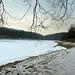 Brno Reservoir in Winter 1