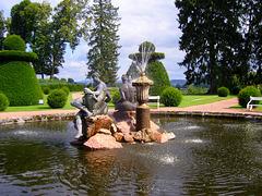 Château de Drée à Curbigny en Saône et Loire.