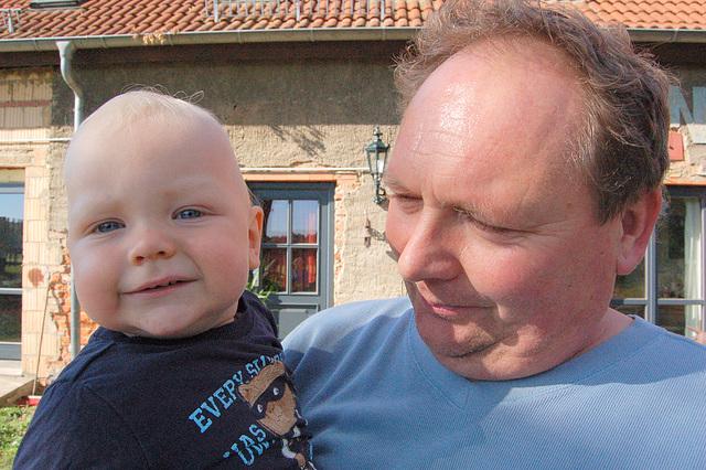 patro kaj filo (Vater und Sohn)