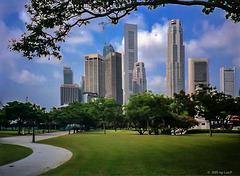 Singapore Skyline, 1995 (210°)