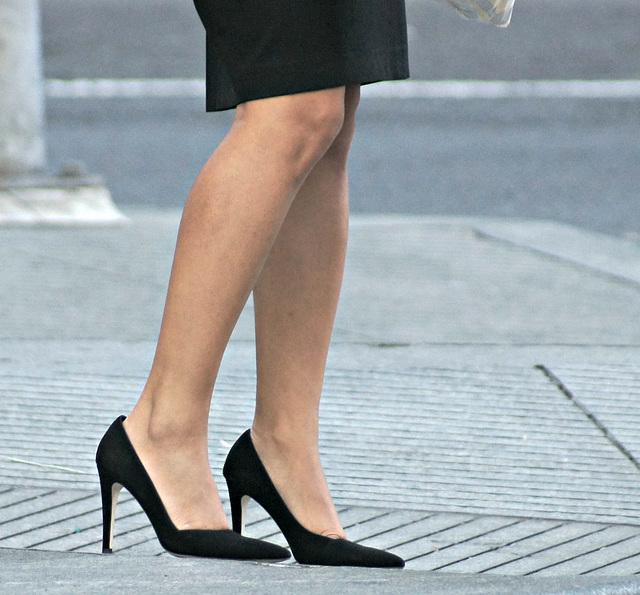 heels and legs