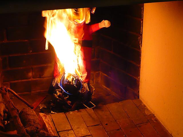 La quema del diablo - II