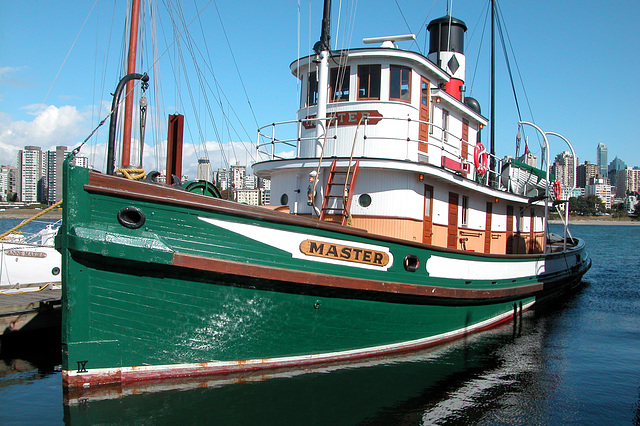 Canadian images: Wooden steam tug S.S. Master