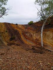 Ochre pit Central Australia
