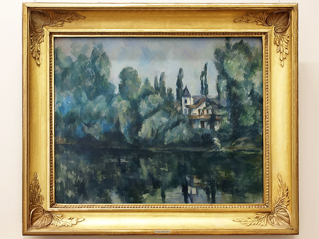 P7060091ac Paul Cézanne 1839 - 1906 Banks of the Marne River in France 1888 Oil on canvas