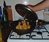 wok full of ducklings