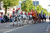Leidens Ontzet 2013 – Optocht – Horse-drawn carriage