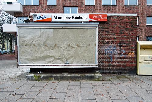 Ladenlokal leerstehend. Marmaris Feinkost. Saarlandstraße, 3.12. 2013 -- ladenlokal-1170768-co-03-12-13