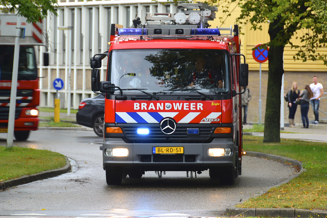 2001 Mercedes-Benz 976.05 Fire Engine