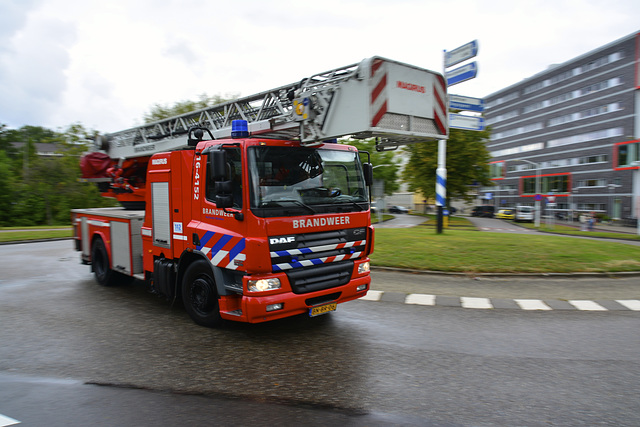 2002 DAF AE75PC Ladder Truck