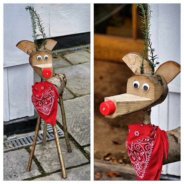 Rudolph the Red-Nosed............log?