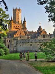 Empfang an der Marienburg