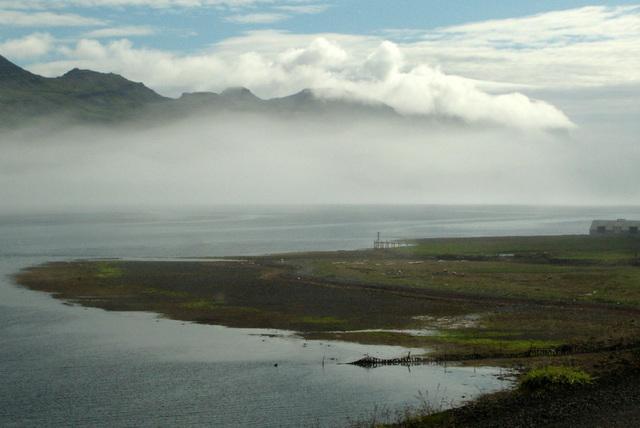 Fjord islandais