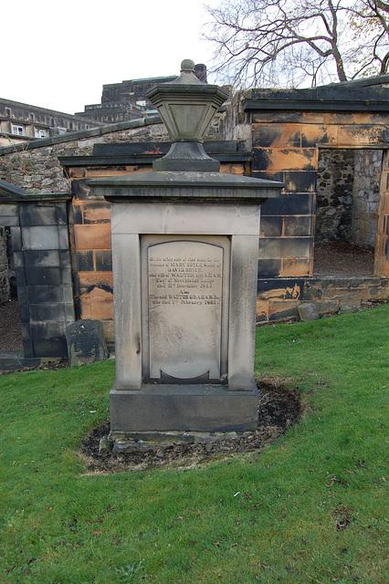 Bryce Monument, Old Cemetery, Calton Hill, Edinburgh