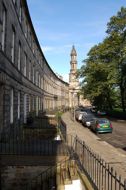 Saint Mary's Church & Bellevue Crescent, Edinburgh