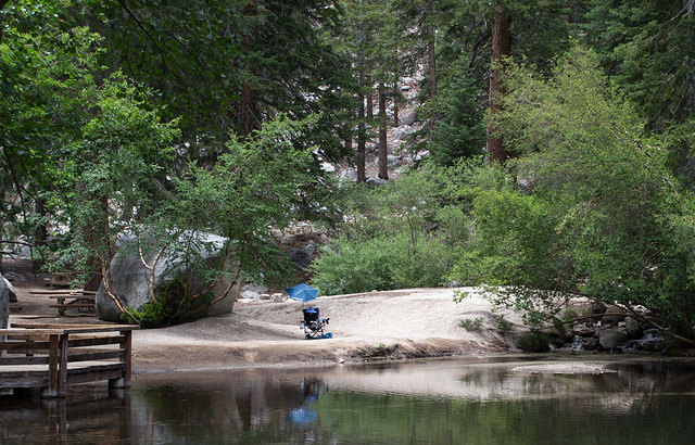 Whitney Portal, CA portal pond  (0366)