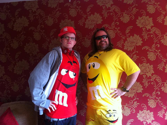 Tony and Luke being classy - NOT!!