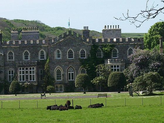 Hartland Abbey looks very classy
