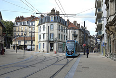 BESANCON: Essai du Tram Avenue Carnot 2014.06.18 - 13