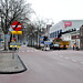 Removal of the traffic lights on the crossing of the Langegracht and the Mare