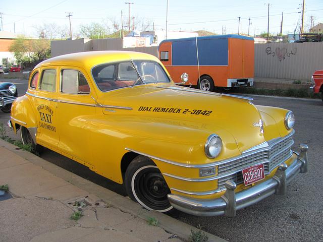 1946 to 1948 Chrysler Saratoga Taxi