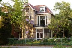 Villa Toerie on the Rijnsburgerweg in Leiden