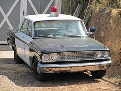 1963 Ford Fairlane 500 Police Car