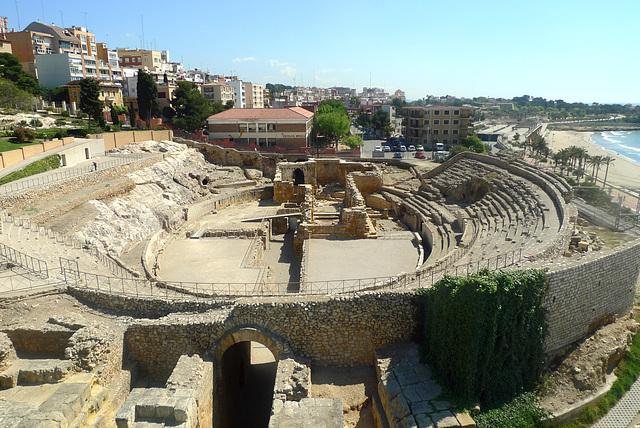 Spain - Tarragona, amphitheatre