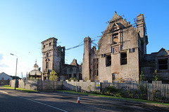 Broadstone House, Port Glasgow, Renfrewshire, Scotland (Burnt 2004)
