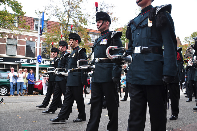 Leidens Ontzet 2011 – Parade – The Band of The Rifles