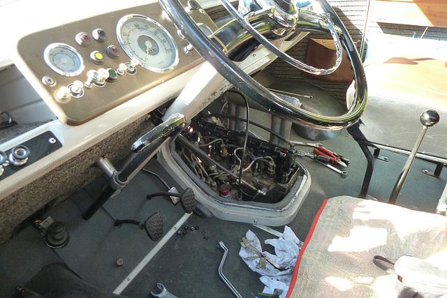 1967 Mercedes-Benz L319 – Interior