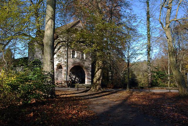 Le moulin des Béchets , au bord du Loiret